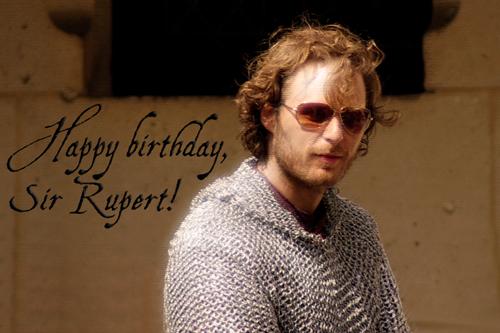 Happy birthday, Sir Rupert!