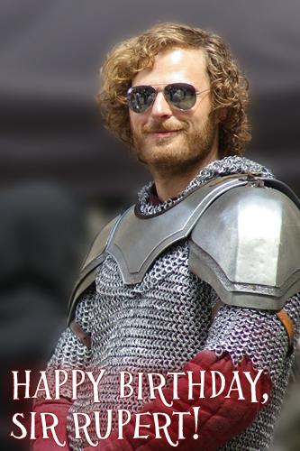 Happy birthday, Rupert!
