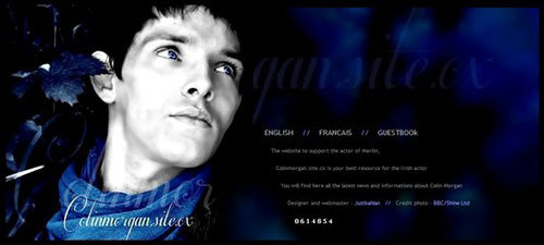 ColinMorgan.Site.cx website