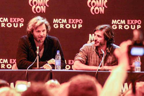 Rupert and Eoin at the panel (sorry for poor picture quality)