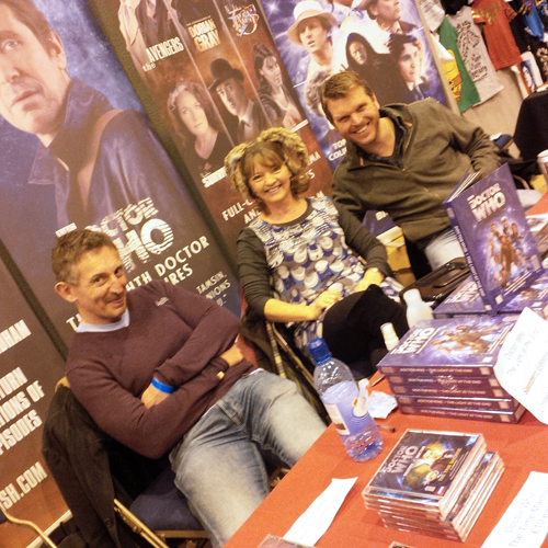 The lovely people from Big Finish!